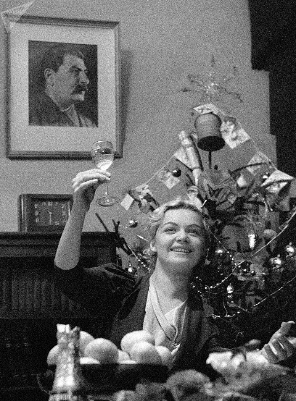 Joyeux Nouvel an! Moscou, 1939