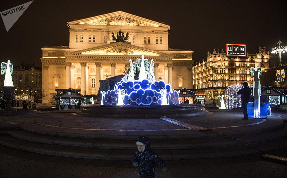 Place du Théâtre à Moscou