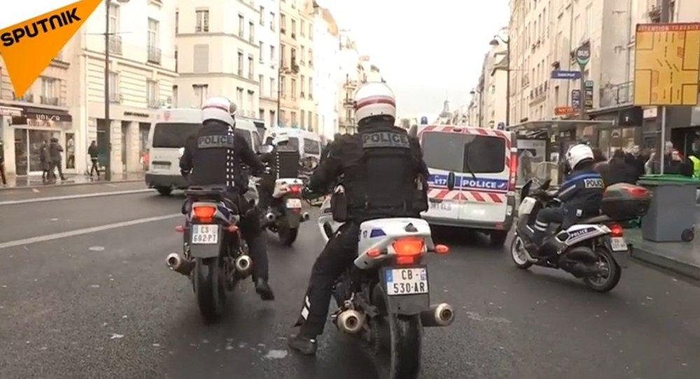 L'acte 6 des Gilets jaunes à Paris