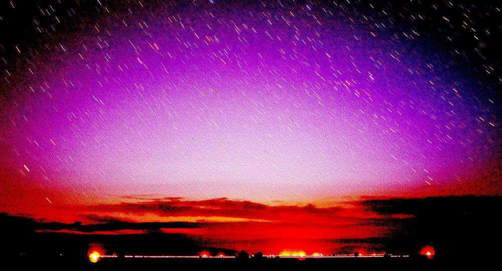 La Californie la nuit
