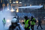 Une manifestation des gilets jaunes à Paris
