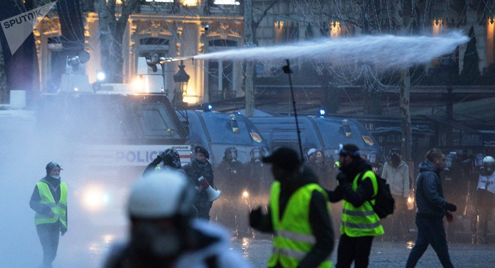 Une manifestation des gilets jaunes à Paris (archives photos)