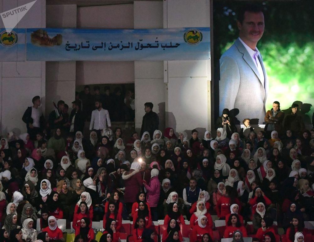 Les célébrations du 2e anniversaire de la libération d'Alep des terroristes