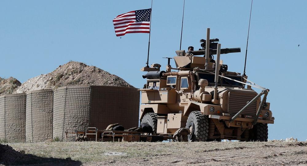Militaires américains à Manbij