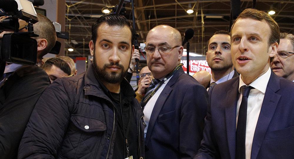 Benalla aurait placé un proche à lui comme nouveau garde du corps de Macron