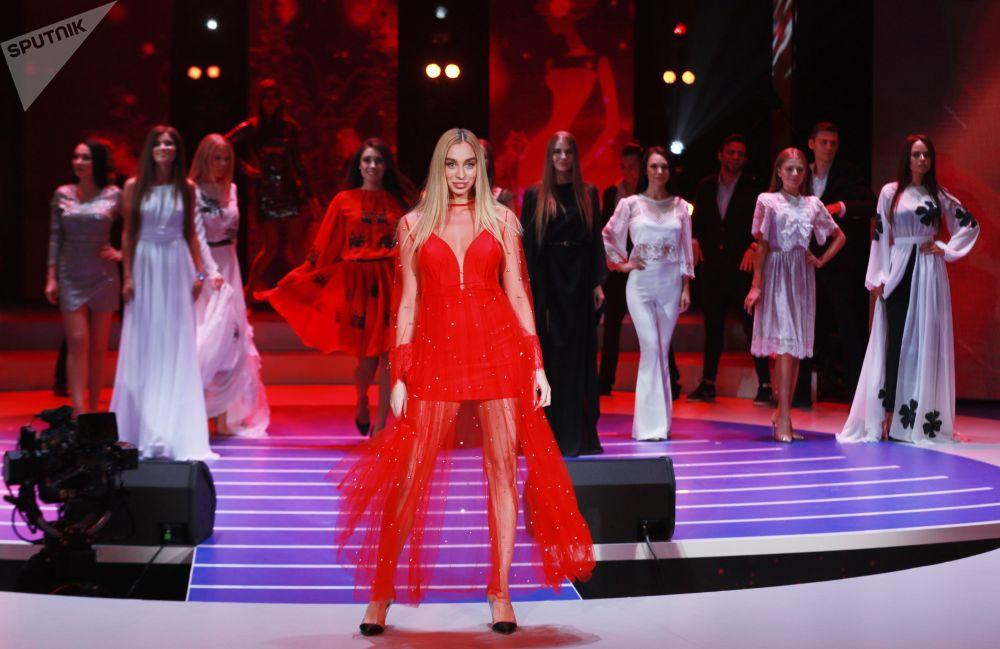 Miss Moscou 2018 et ses rivales