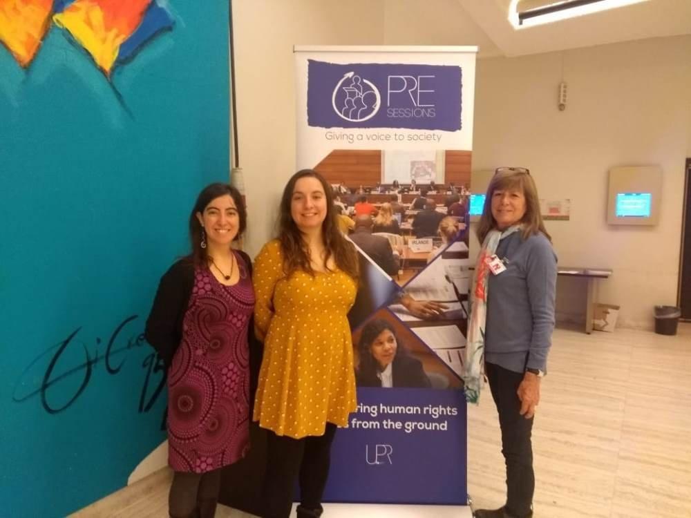 Alejandra Donoso, Cristina Lux et Katta Alonso