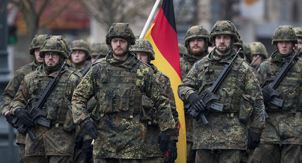 Soldats allemands, image d'illustration