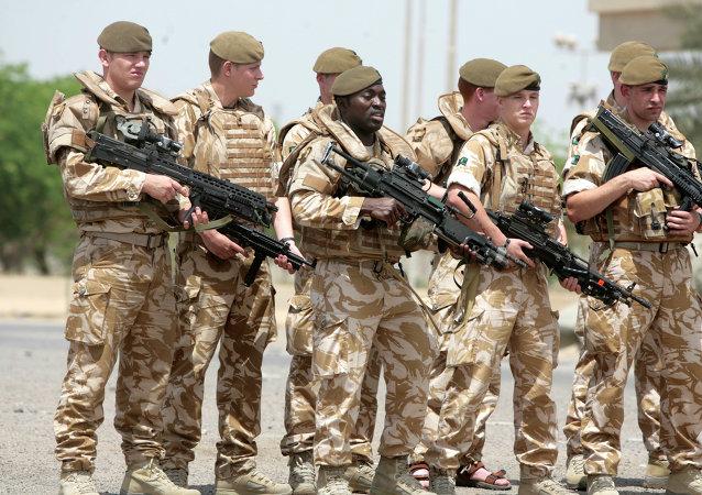 Soldats britanniques (Images d'illustration)