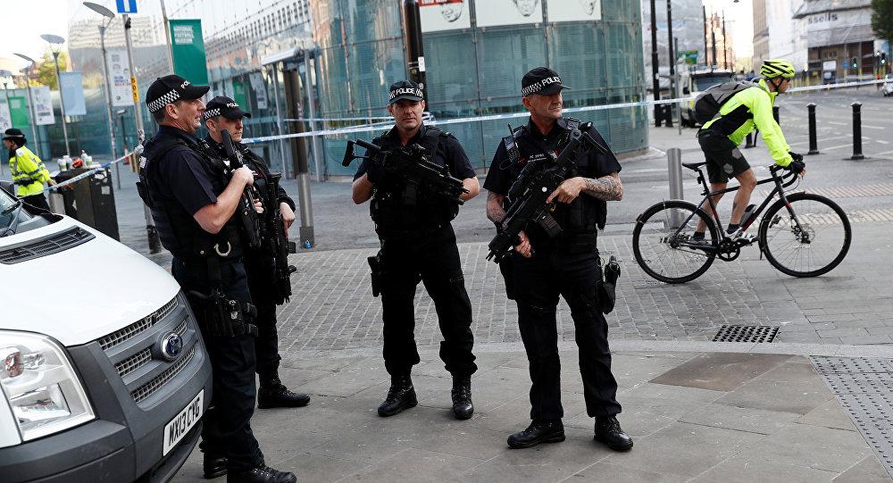 Police à Manchester