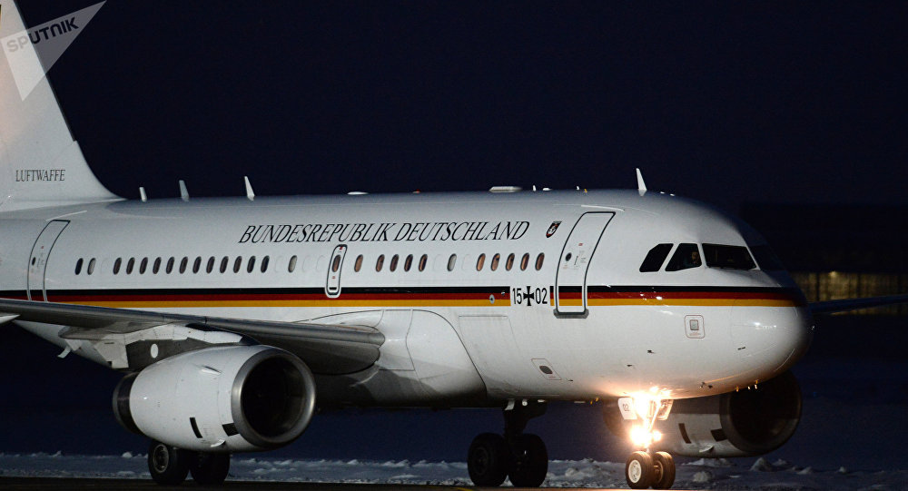 L'avion gouvernemental allemand