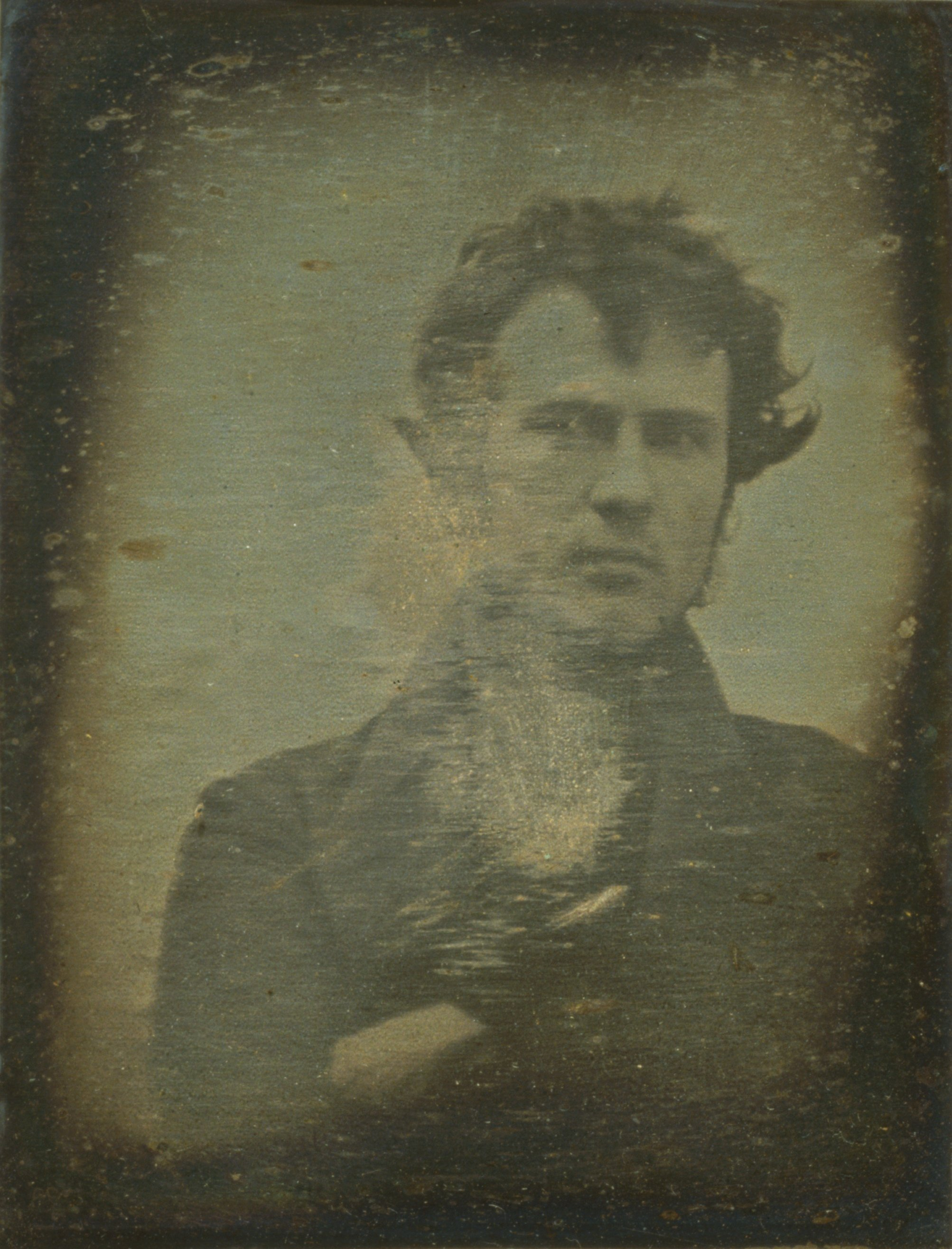Autoportrait de Robert Cornelius