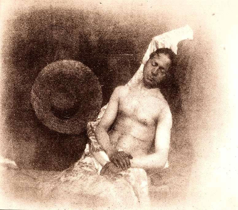 L'Autoportrait en noyé par Hippolyte Bayard