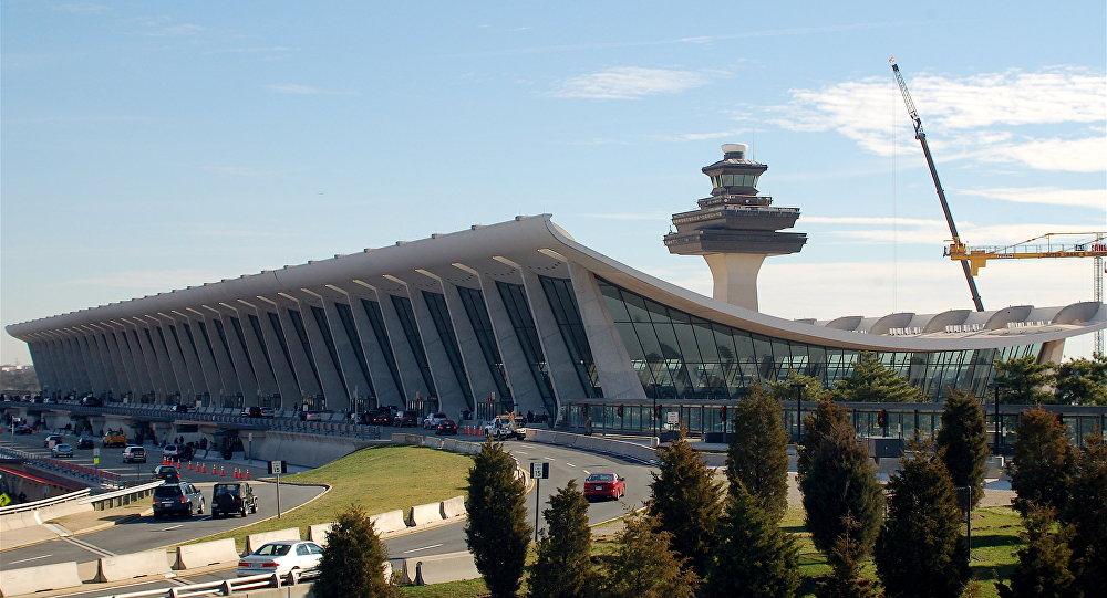 File photo of Washington Dulles International Airport