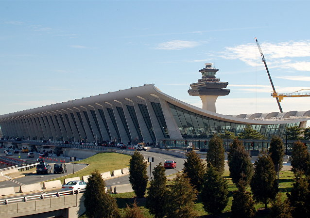 File photo of Washington Dulles International Airport