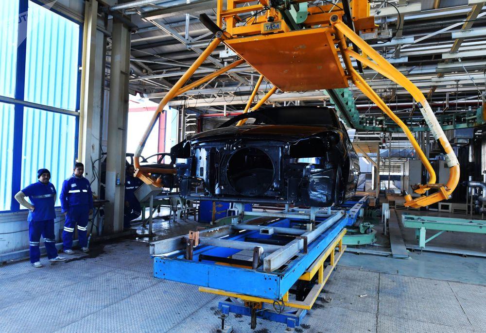 L'usine automobile Siamco en Syrie