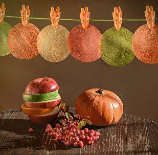 Les films comestibles, à la base de pomme, créés à l'Université de Samara