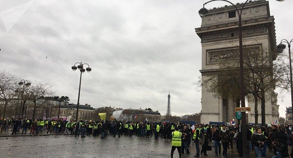 Acte 9 de la mobilisation des Gilets jaunes à Paris