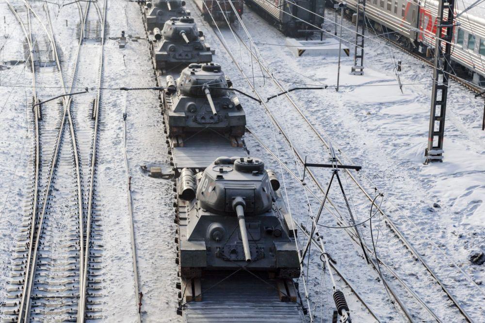 Le char T-34: retour à la Patrie