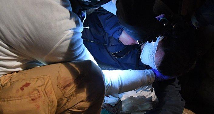 Un blessé à Bordeaux