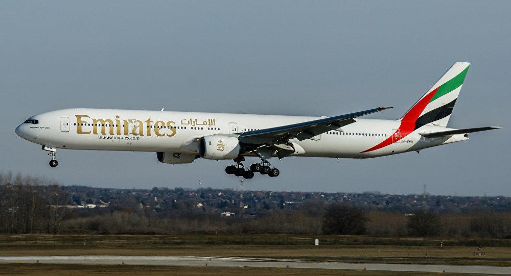 Un Boeing 777 d'Emirates