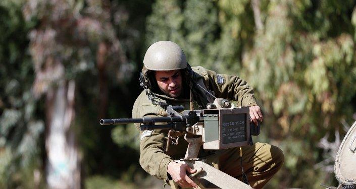 Un militaire israélien