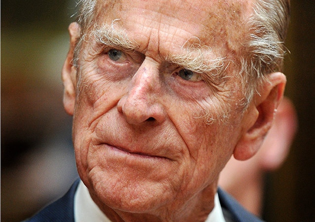 Le prince Philip, duc d'Edimbourg