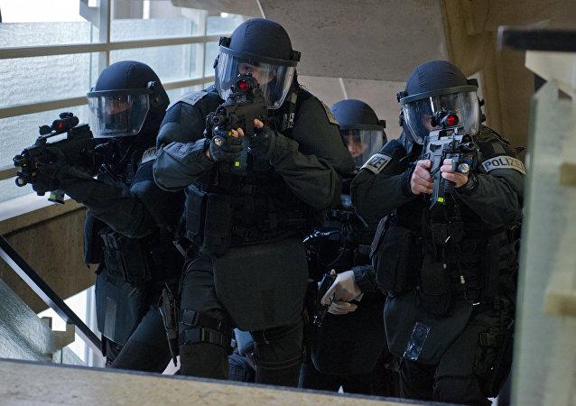 Übung einer SEK-Einheit der deutschen Polizei (Archivbild)