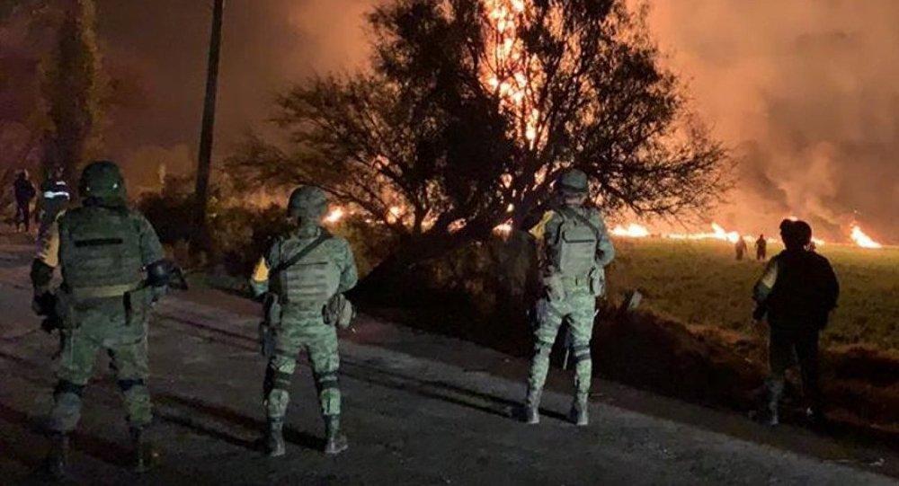 Explosion d'un oléoduc au Mexique