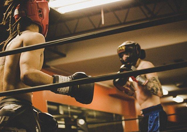 Des boxeurs (image d'illustration)