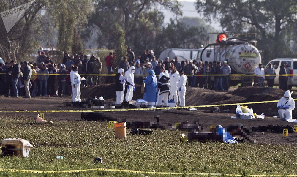 Après l'explosion de l'oléoduc de Pemex