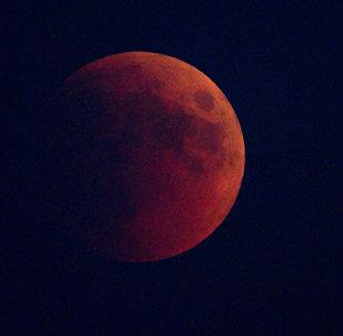 Eclipse lunaire, image d'illustartion