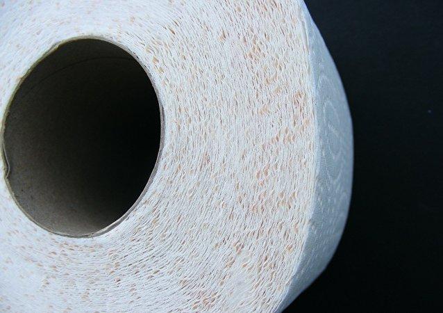 Un papier hygiénique