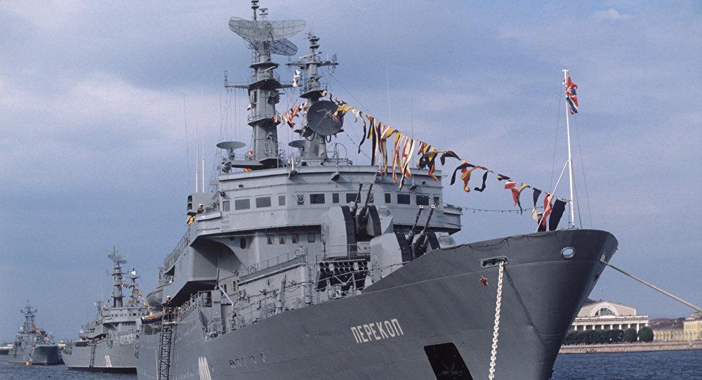 Navire d'entraînement Perekop de la flotte de la mer Baltique