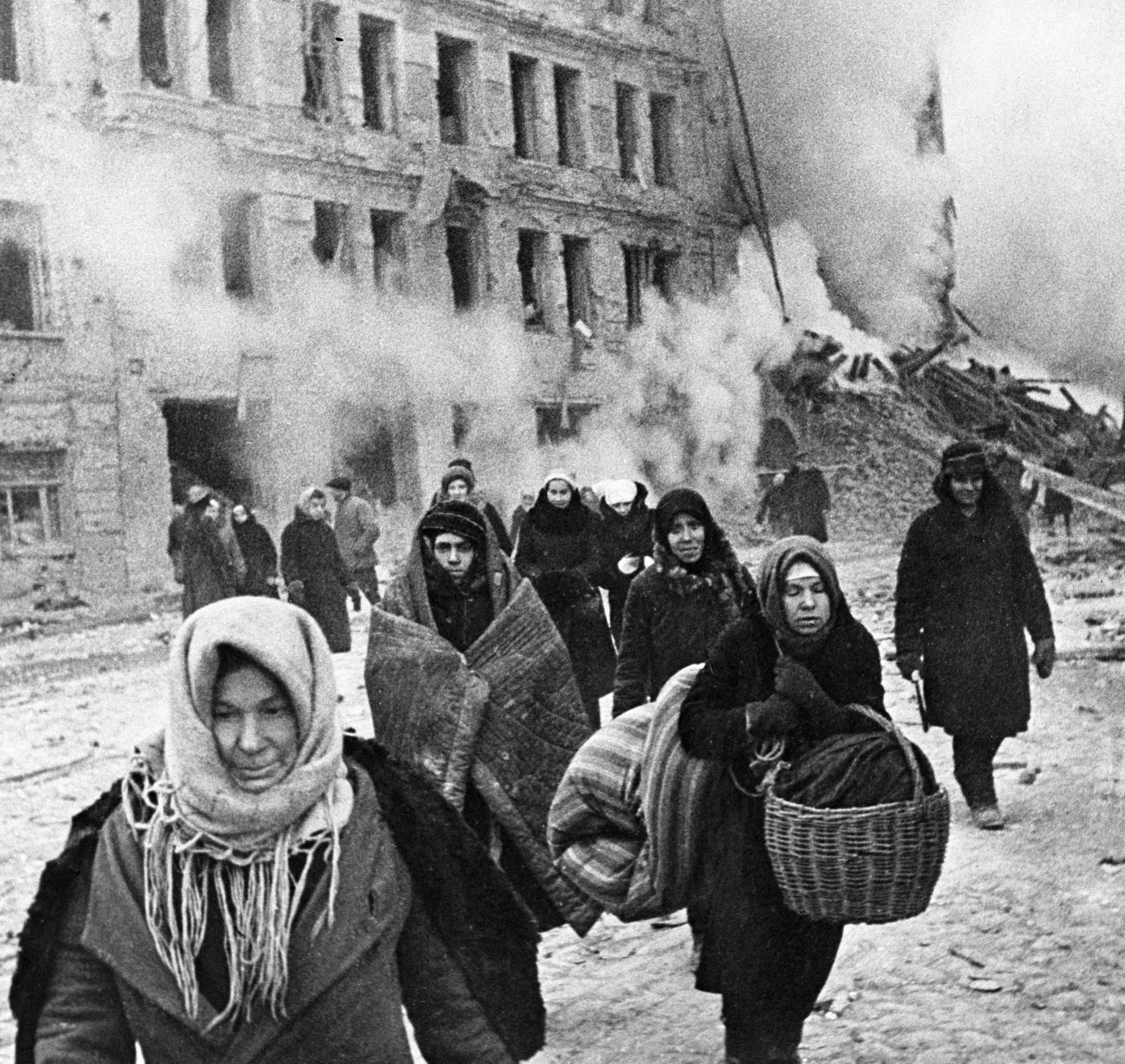 Il était une fois Leningrad, ville martyrisée par les nazis