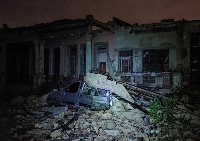 Une tornade à Cuba