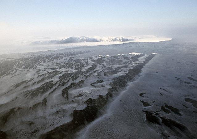 Île Wrangel en Arctique
