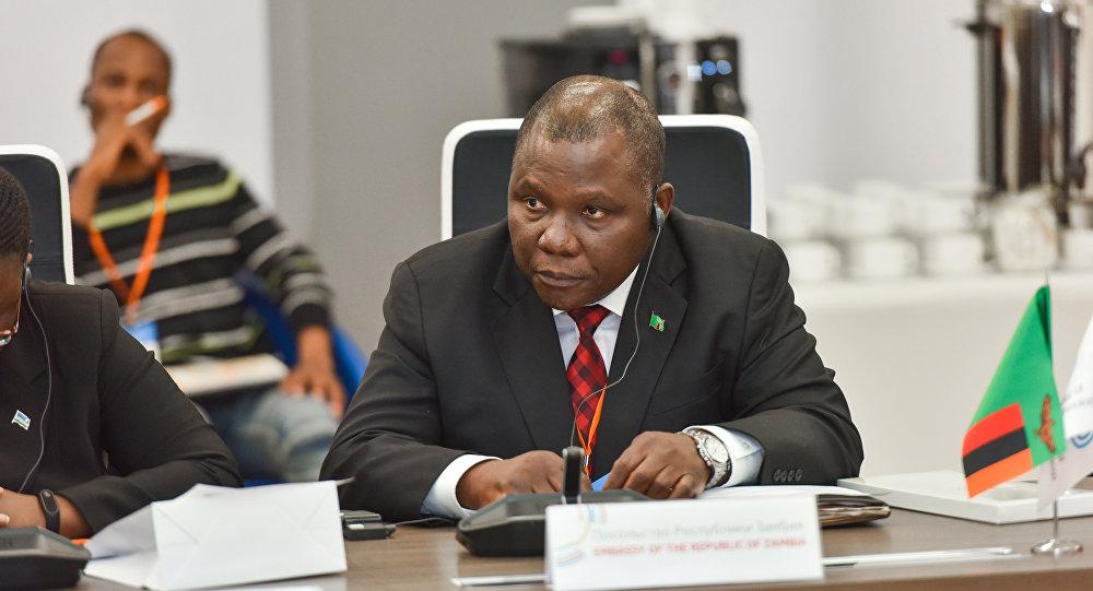 Ambassadeur de Zambie en Russie Shadreck C. Luwita