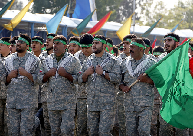 Les paramilitaires du Bassidj