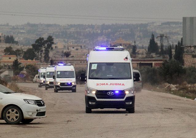 Ambulances, Syrie