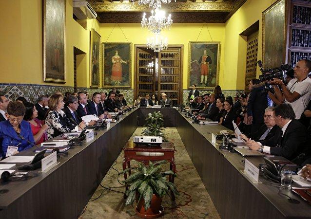 Réunion ministérielle du Groupe de Lima