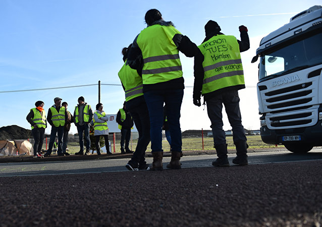 Des Gilets jaunes, image d'illustration
