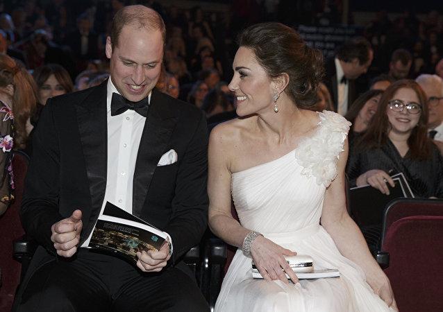 Kate Middleton et le prince William à la cérémonie de remise des prix des BAFTA