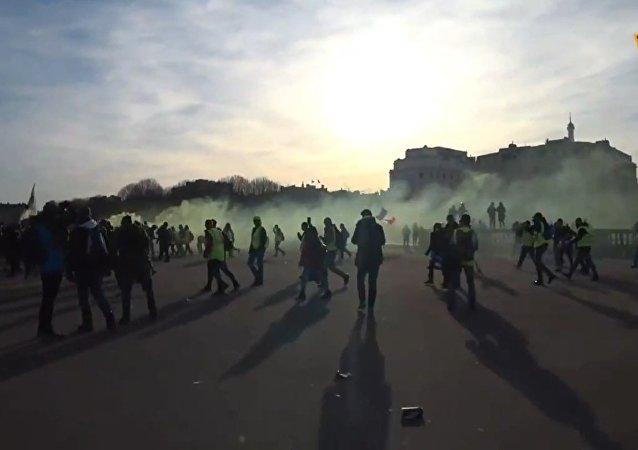 Acte 14 des Gilets jaunes à Paris