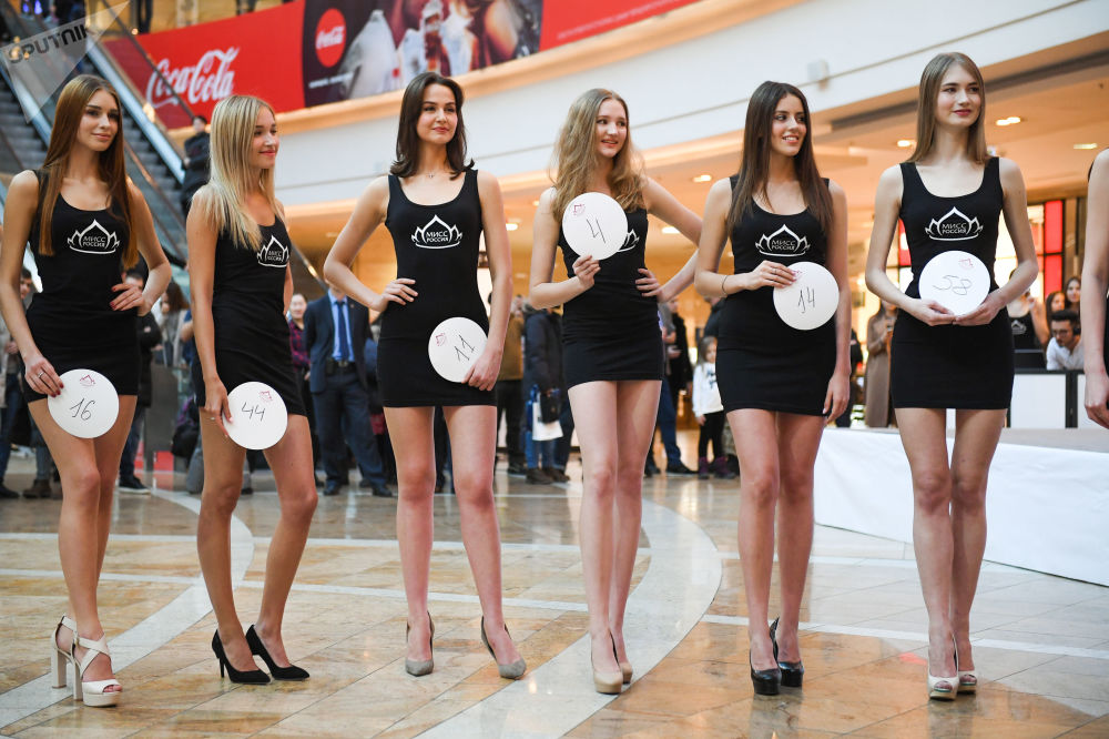 Le casting ouvert Miss Russie 2019