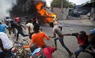 Manifestation à Port-au-Prince