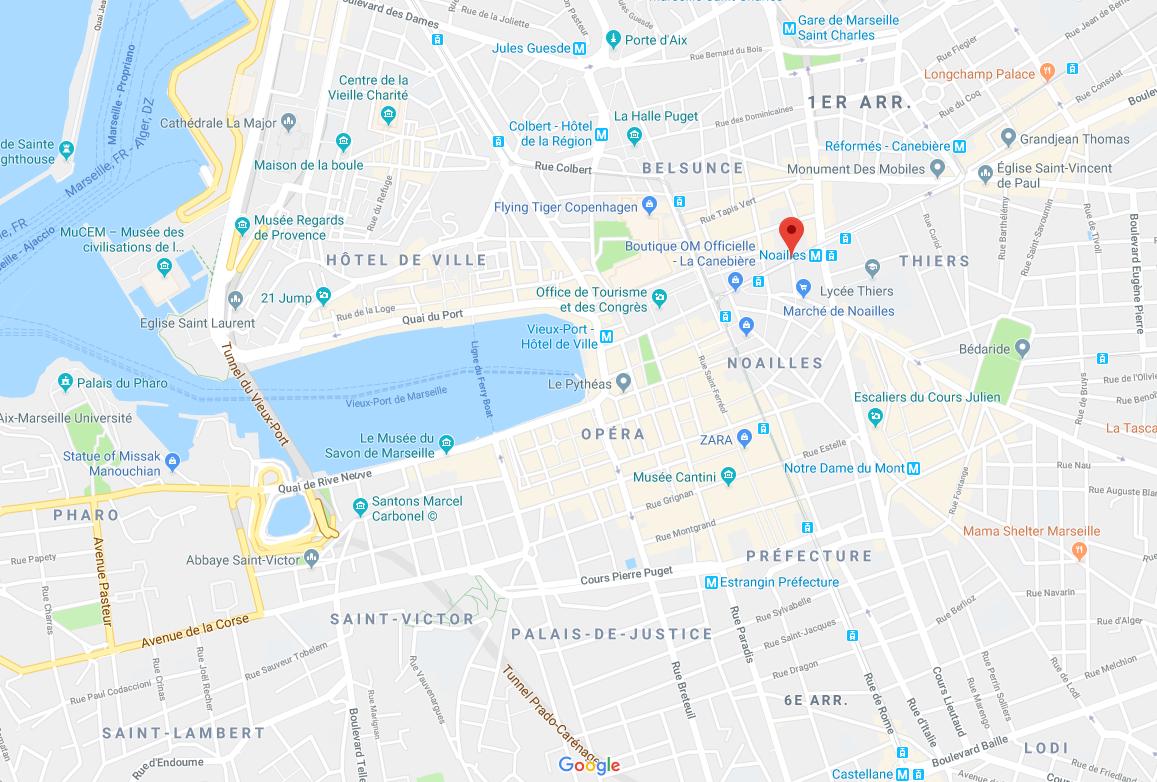 Un blessé par arme à feu et plusieurs blessés par arme blanche en plein Marseille