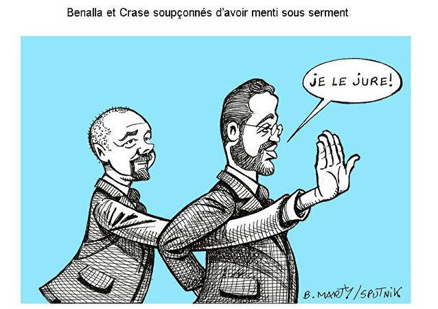 Benalla et Crase soupçonnés d'avoir menti sous serment