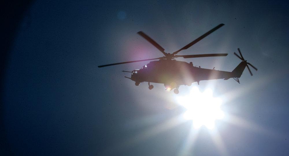 un hélicoptère, image d'illustration