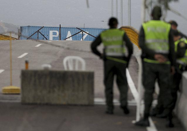 la situation à la frontière entre la Colombie et le Venezuela